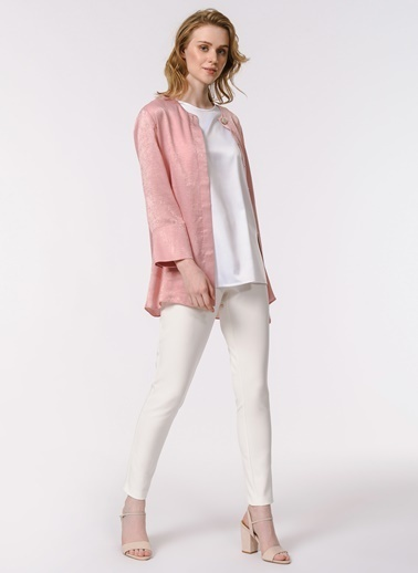 Mizalle Bluz Beyaz